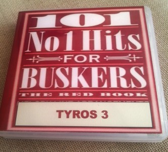 101no1REDBOOKT3 101 Number 1 Hits For Buskers red book TYROS 3
