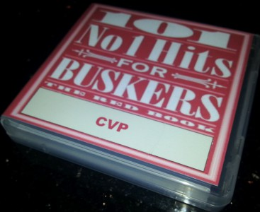 101NO1CVP 101 Number 1 Hits For Buskers: THE RED BOOK CVP