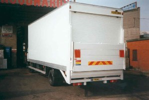 grp box body with tail lift Image