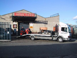 Beaver tail Recovery Truck Image