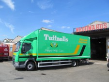 Daf CF 12 tonner with Box body & Tailift