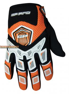GP-PRO V-FLEX GLOVES ORANGE KIDS XXXS 10-12CM SIZE 5
