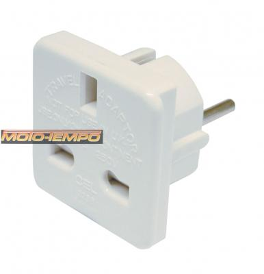 AC MAINS 2 PIN EURO ADAPTOR