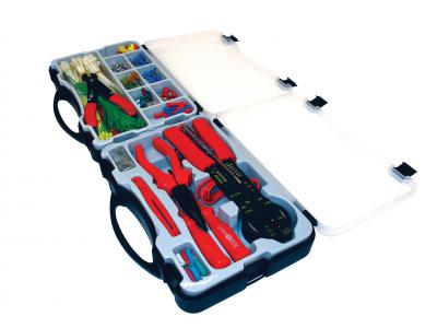 ELECTRICAL TOOL KIT COMPLETE WITH STORAGE CASE 399PCS (JJ-PT399)