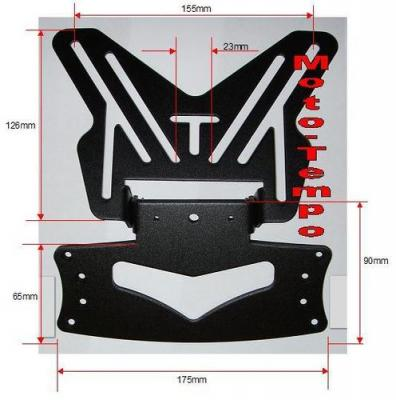 RLTNPT 10 Universal Tail Tidy /number plate bracket