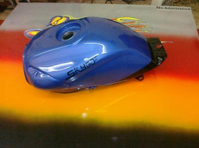 Skygo SG125-30 Fuel Tank in Blue/Black New  SG 125 - 30