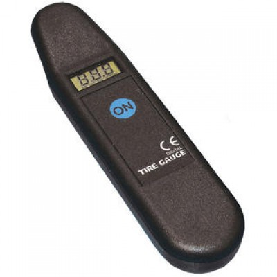 Digital Tyre Pressure Gauge CE Approved Motorcycle LOW PROFILE (under disc)