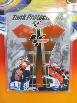 MOTORCYCLE TANK PROTECTOR SCRATCH PAD MOTO GP RED