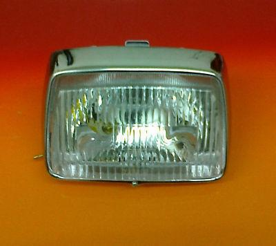 HONDA C50 C70 C90 CUB HEAD LIGHT, BULBS & WIRING E / MF / G / MG / N / M / MN