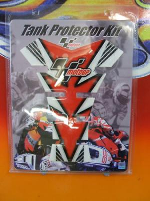 MOTORCYCLE TANK PAD PROTECTOR SCRATCH MOTO GP RED Official Merchandise