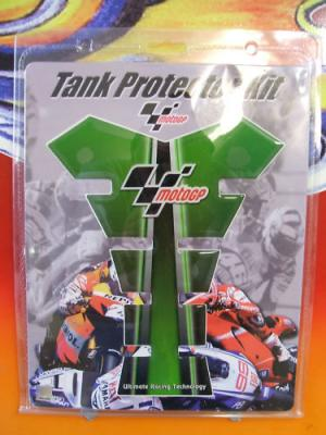 MOTORCYCLE TANK PAD PROTECTOR SCRATCH MOTO GP GREEN Official Merchandise