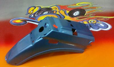 HONDA C90 Rear Fender Mudguard BLUE  1984   Mud Guard NEW