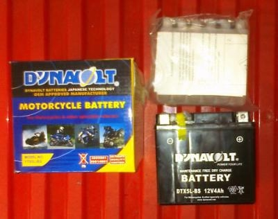 YTX5LBS Battery Hyosung TE100 06