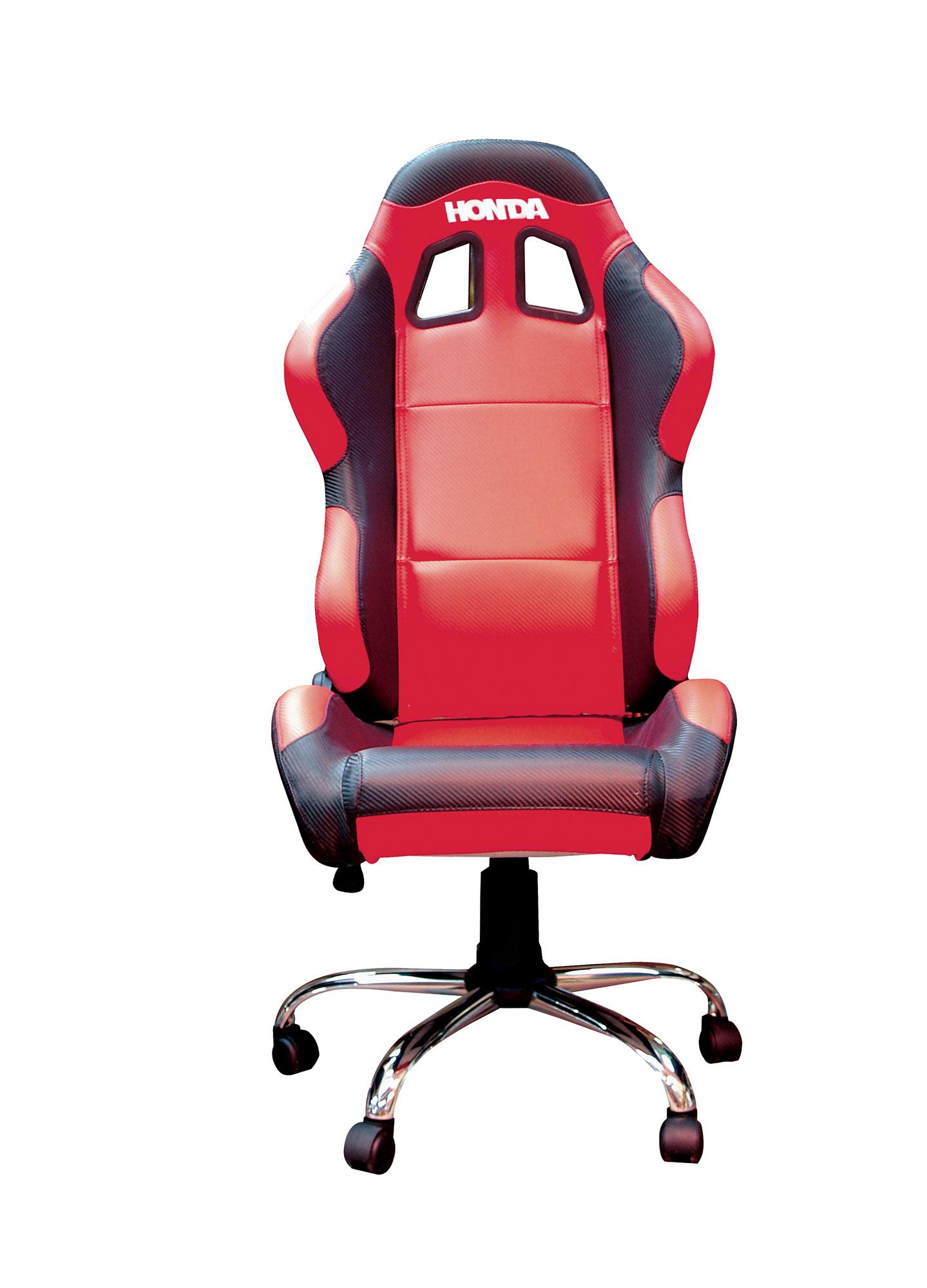 RIDER PADDOCK TEAM CHAIR - HONDA RED WITH BLACK TRIM