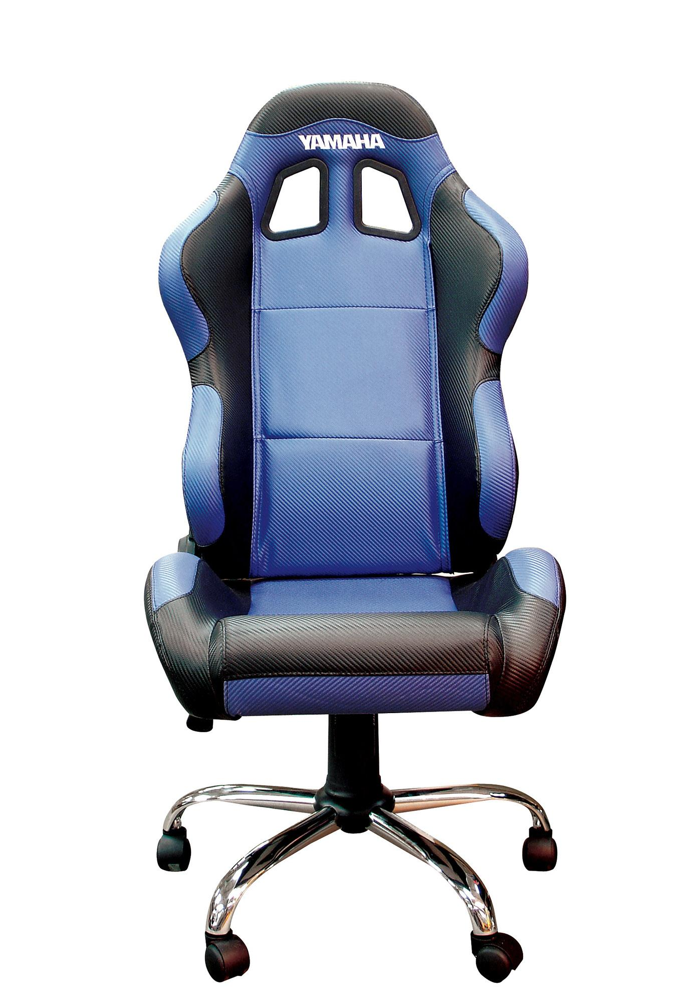 RIDER PADDOCK TEAM CHAIR - YAMAHA BLUE WITH BLACK TRIM