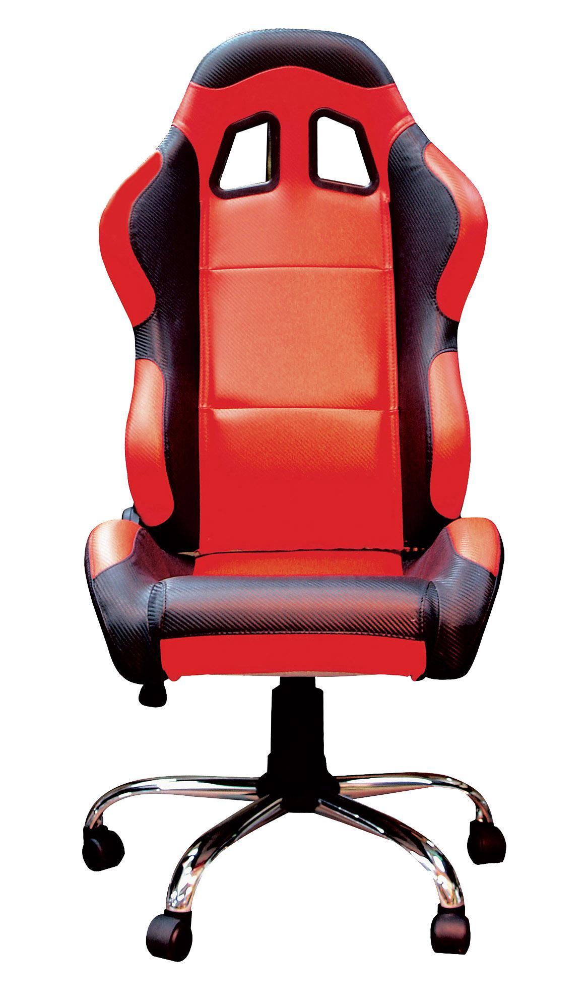 RIDER PADDOCK TEAM CHAIR - RED/NO LOGO WITH BLACK TRIM