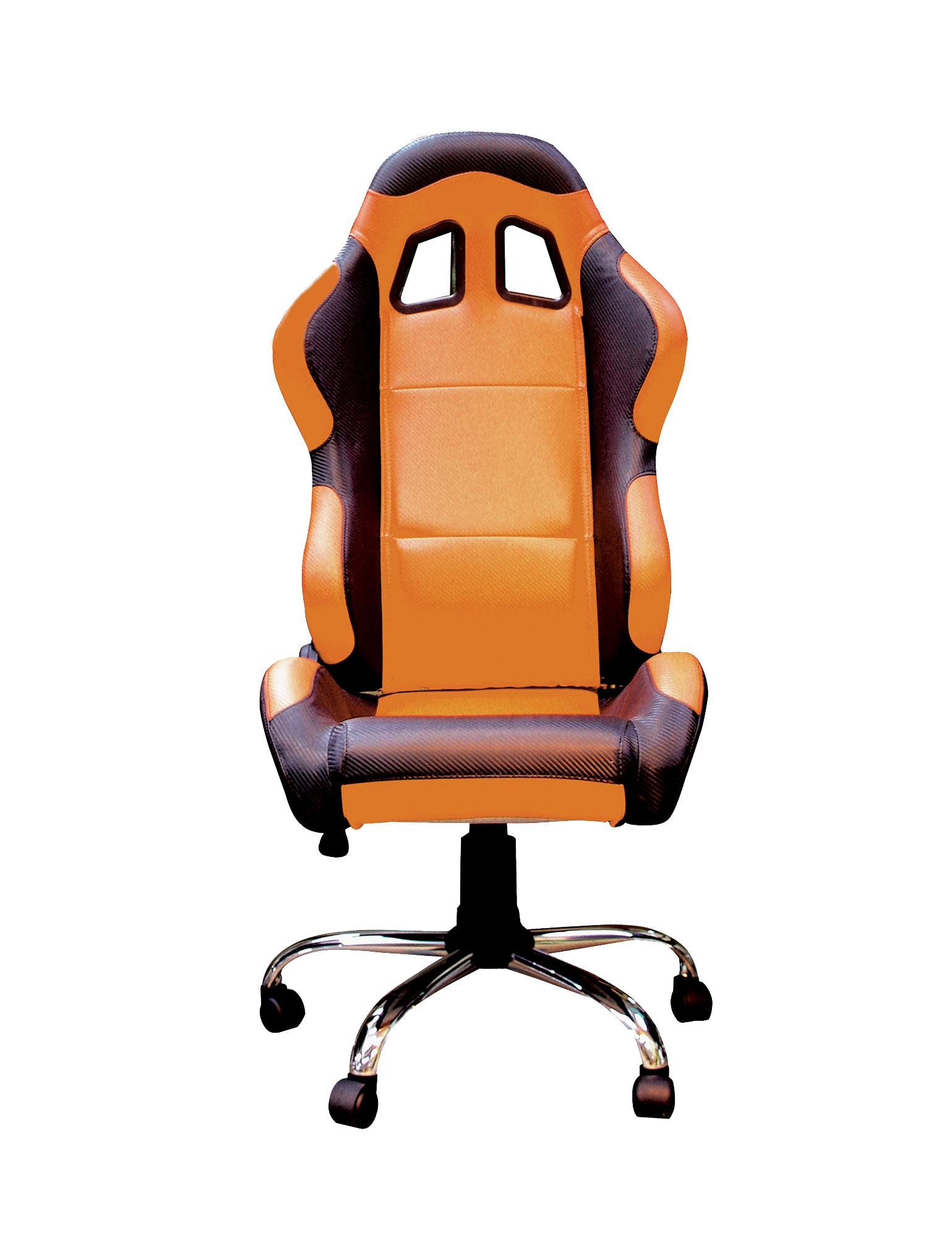 RIDER PADDOCK TEAM CHAIR - ORANGE/NO LOGO WITH BLACK TRIM