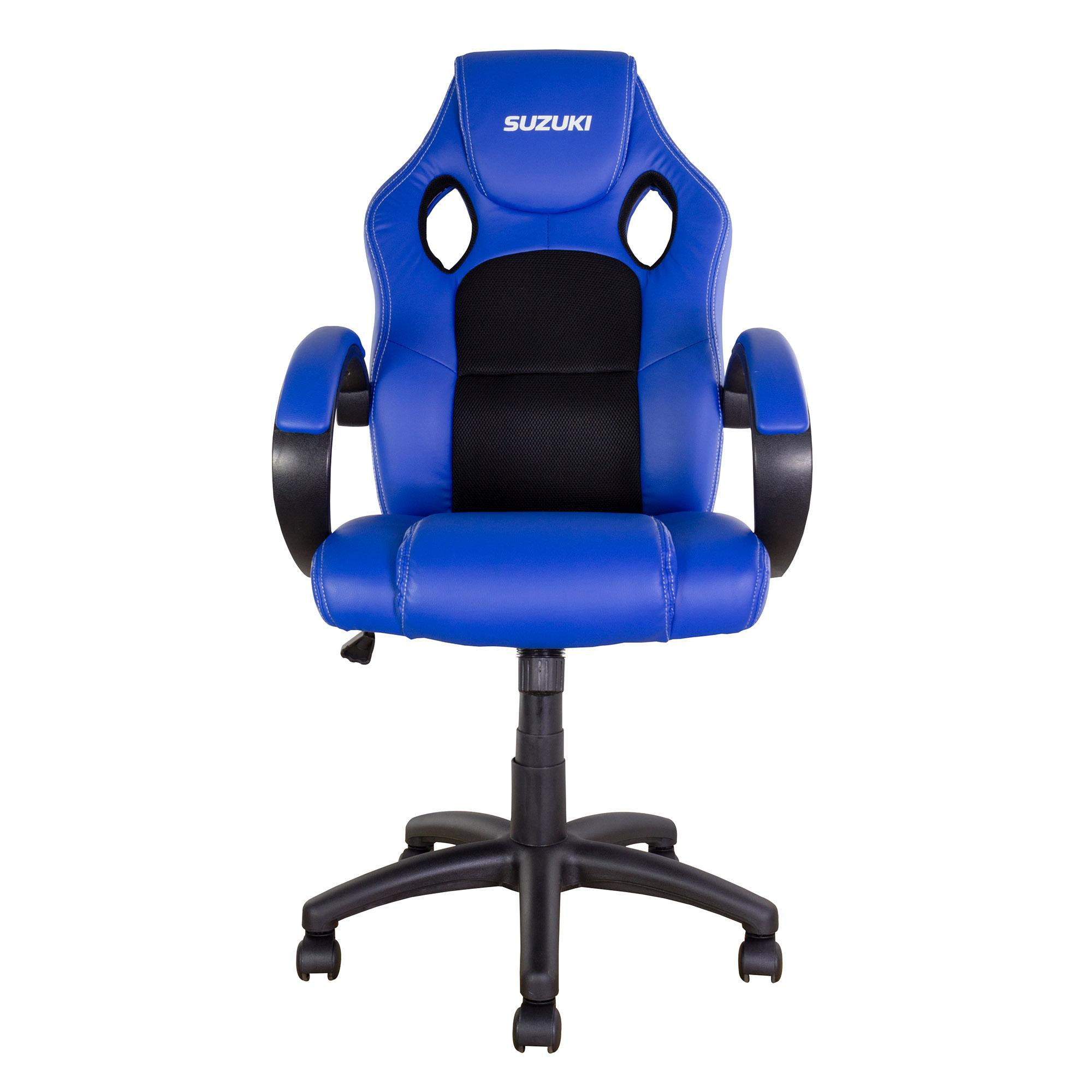 RIDER CHAIR - Suzuki Blue with Black trim