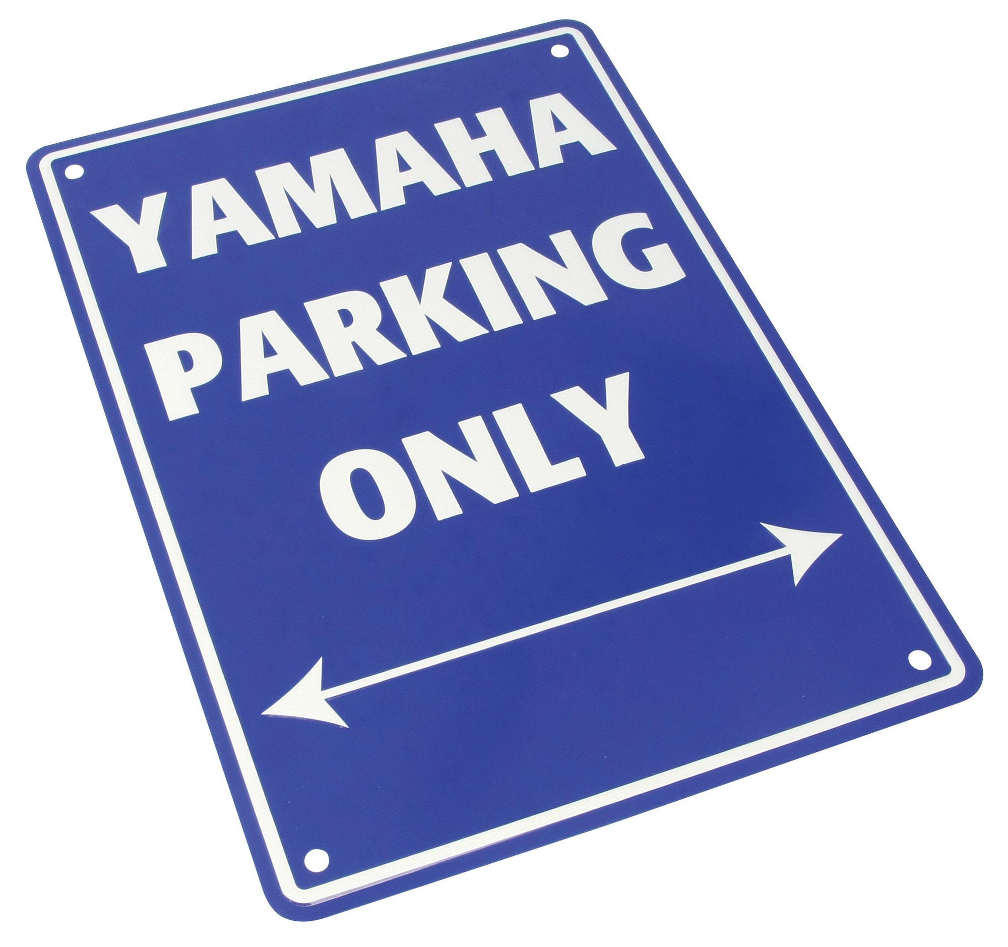 PARKING SIGN Yamaha Parking Only