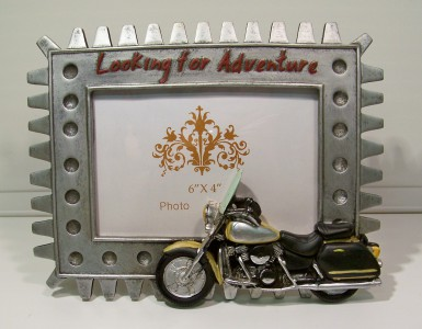 Picture Frame Cruiser Looking for Adventure 23x17 cm