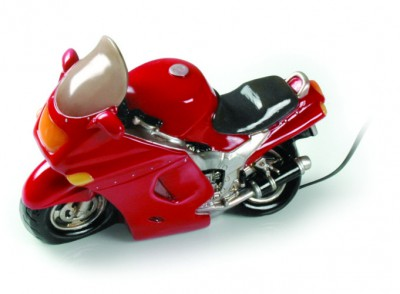 Table Lamp Motorbike FP (Red) 24 cm