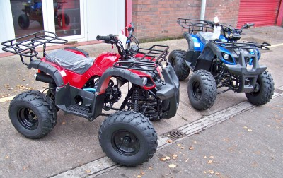 "UTILITY QUAD 125cc ¾ size Automatic with reverse Farm Quad (CE), with 8"" Fat Boi tyres"