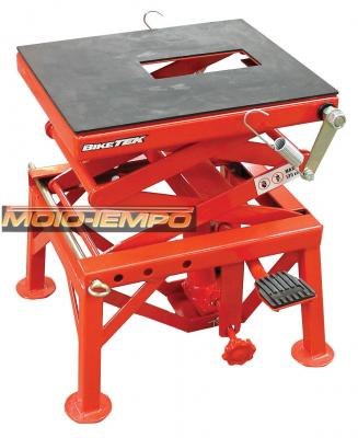 BIKETEK MX SCISSOR LIFT 135KG MAX, 340MM <> 890MM LIFTING RANGE
