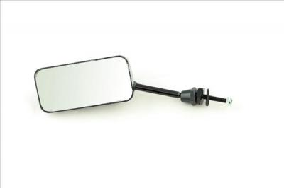 Universal Mirrors. Carbon Look F1, 40mm stem short, (PAIR) SHORT