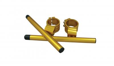 CLIP-ON BAR KIT 41mm Gold