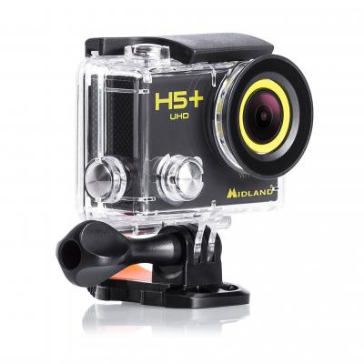 Midland H5+ UHD Action Camera With Integrated WiFi - #C1208-02