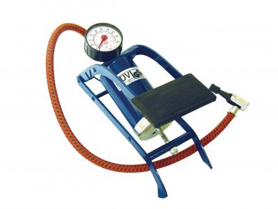 MONO CYLINDER FOOTPUMP 0-100 PSI 0-7 BAR