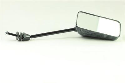 Universal Mirrors. Carbon Look F1, 110mm stem long, (PAIR) LONG