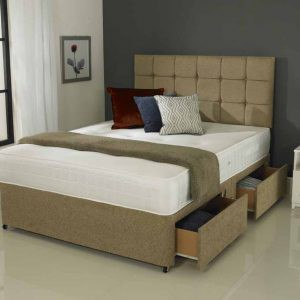 Divan 07r Super Ortho - Mattress and Divan Base