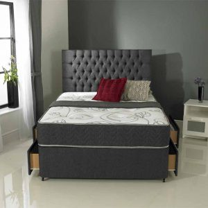 Divan 08r Orchid - Mattress and Divan Base