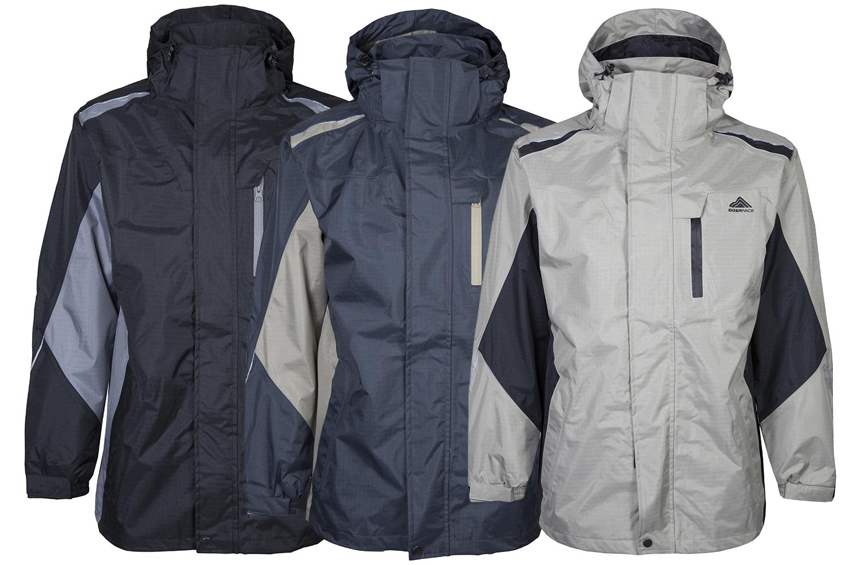 210 mens breathable waterproof jackets eiger face. Black Bedroom Furniture Sets. Home Design Ideas