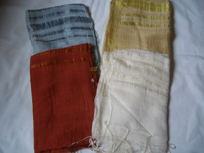 310523557216 Silk/linen mix large scarves handcrafted from Vietnam