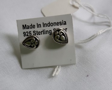 428 925 sterling silver earrings