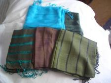 Silk Large Wraps....handcrafted From Vietnam