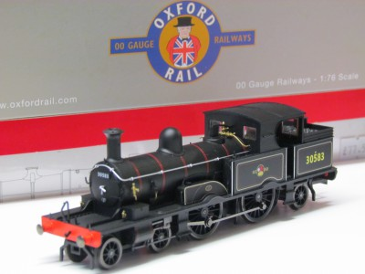Oxford Rail OR76AR001 Adams Radial tank 4-4-2 in BR Black 50583