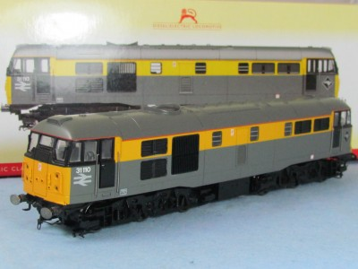 Hornby R2421 Class 31 Brush Type 2 in Dutch Civils Livery DCC