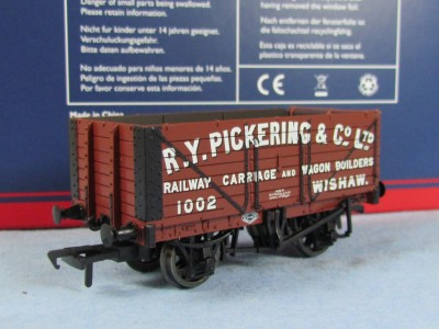 Bachmann 37-2010K 7 Plank End Door Wagon