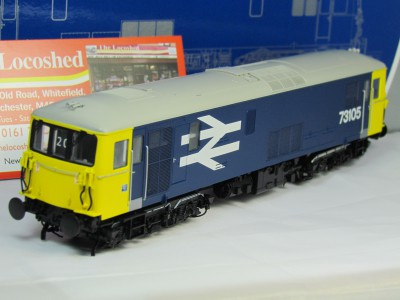 Dapol 4D-006-001 Class 73105 Electro-Diesel in BR large Logo Livery