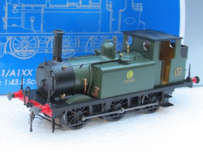 Dapol 7S-010-008 7mm O Gauge AIX Terrier 0-6-0 in GWR Green