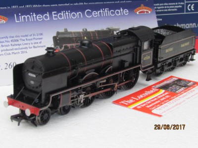 Bachmann 31-210K Patriot Class No 45506 The Royal Pioneer Corps