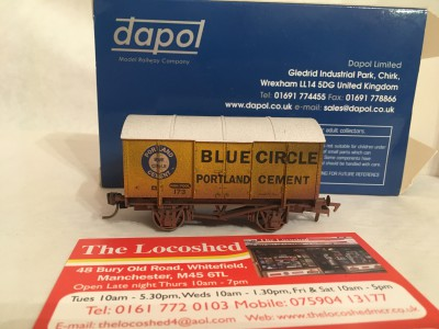 Dapol Blue Circle 173 Gunpowder Van Weathered � 4F-013-105