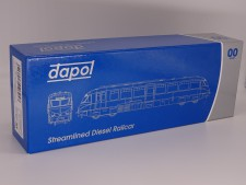 Dapol � 4D-011-001 Streamlined Railcar 12 Lined Choc & Cream GWR Monogram � DCC Ready 21 Pin - New