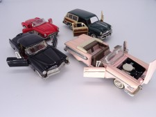 Collection of 4 Franklin Mint 1/43 Scale Cars