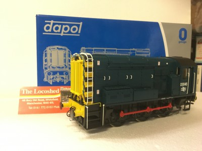 Dapol 7MM Class 08 BR Blue Class 08 With Wasp Stripes D3045 (7D-008-002)