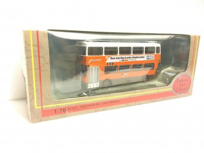 Exclusive First Editions GM Stanard Atlantean in GM Busses Orange Orange (28604)