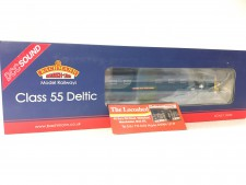 Bachmann DCC Sound Class 55 Deltic 'Queens Own Highlander BR Blue (32-534DS)
